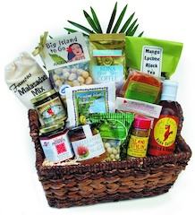 Hawaiian Spa Baskets and Hawaiian Treats corporate gift baskets