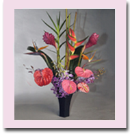 Hawaiian Tropical Flowers loose bouquets