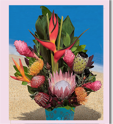 Loose Bouquets · Maui Protea Arrangements